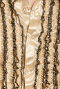 Rüschenhemd Herren gold