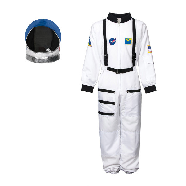 Astronauten Kostüm Kinder + Helm 152