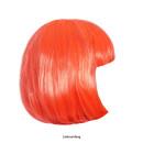 Perücke Cabaret orange fluo