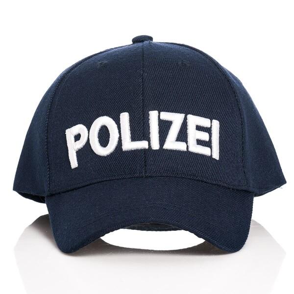Polizei Cap Kinder blau