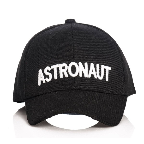 Astronauten Cap Kinder schwarz