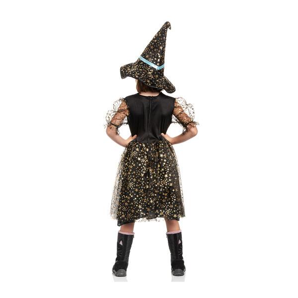Hexen Kostüm Kinder Blau 128