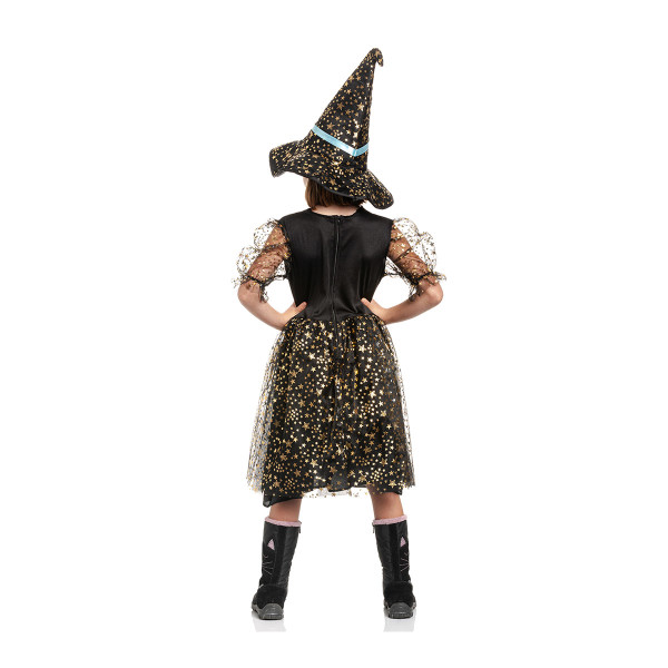 Hexen Kostüm Kinder Blau 140