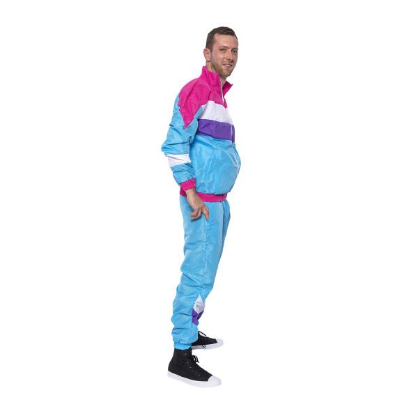 80er Jahre Herren Kostüm Trainingsanzug