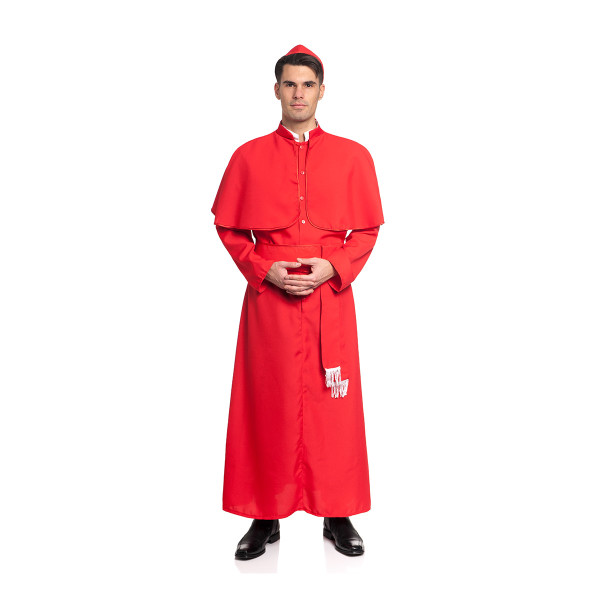 kardinal kostüm herren rot