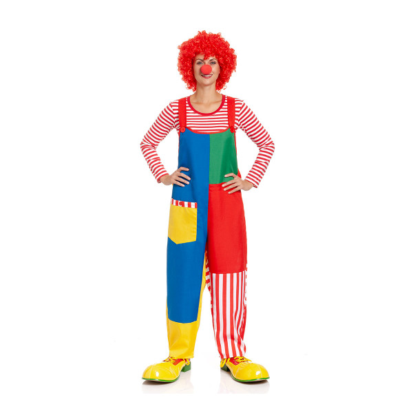 Clown Latzhose Damen