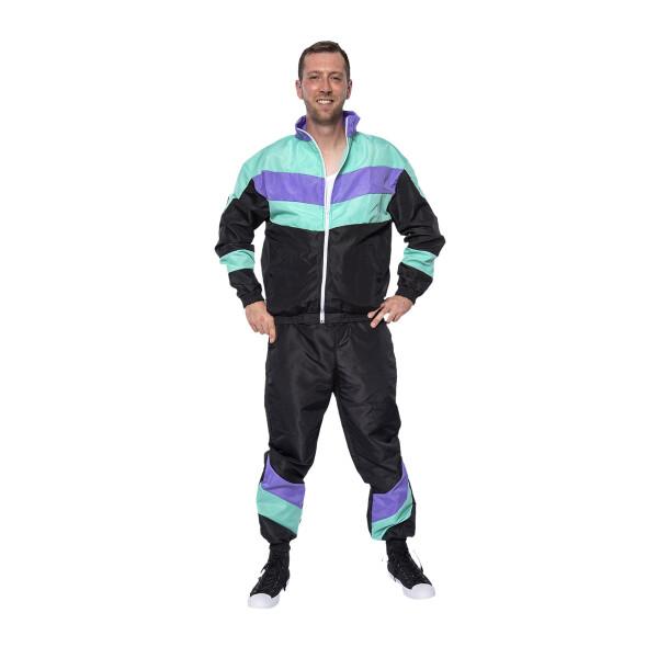 Jogger 80er Herren Kostüm Ugly 52-54