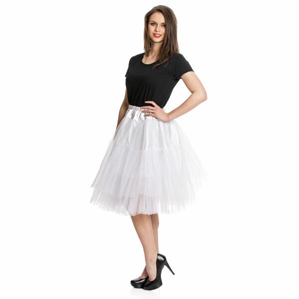 petticoat damen weiß