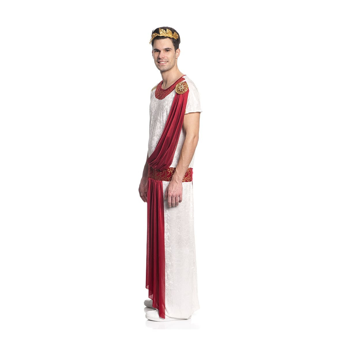 Kostüm Toga Julius Caesar Römer Lorbeerkranz