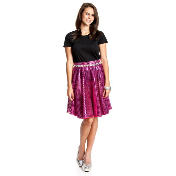 disco rock damen fuchsia