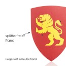 Ritterschild Holz Kinder Löwe