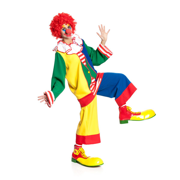 Clown Damen bunt 44