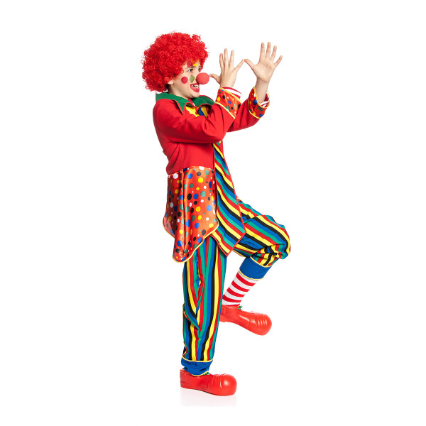 Clown Kinder bunt 128
