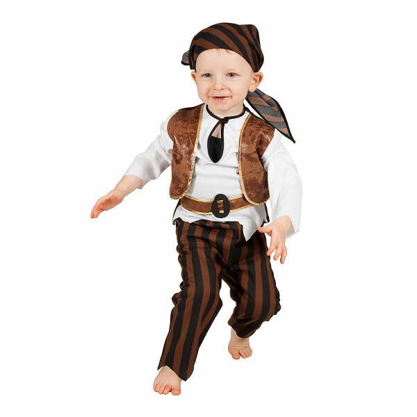 Pirat Jungen braun 86