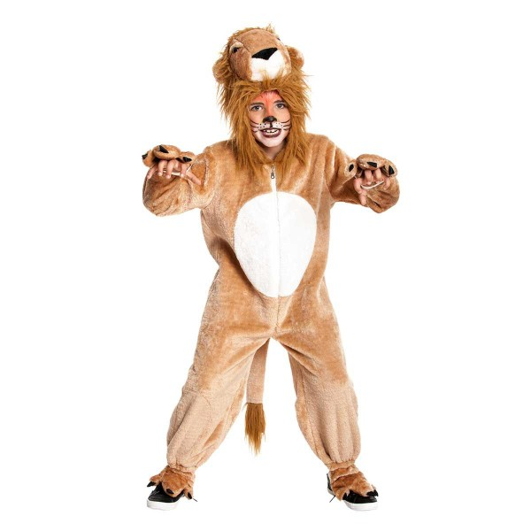 Löwe Kinder braun 128