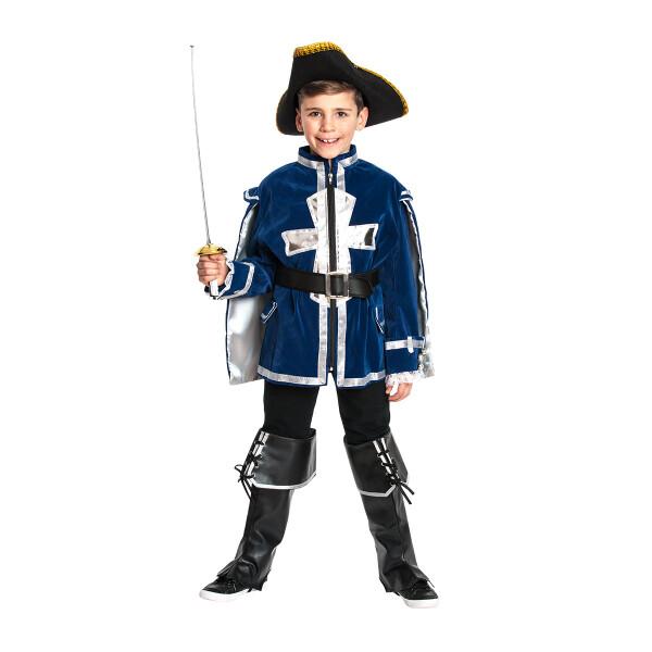 Musketier Jungen blau 140