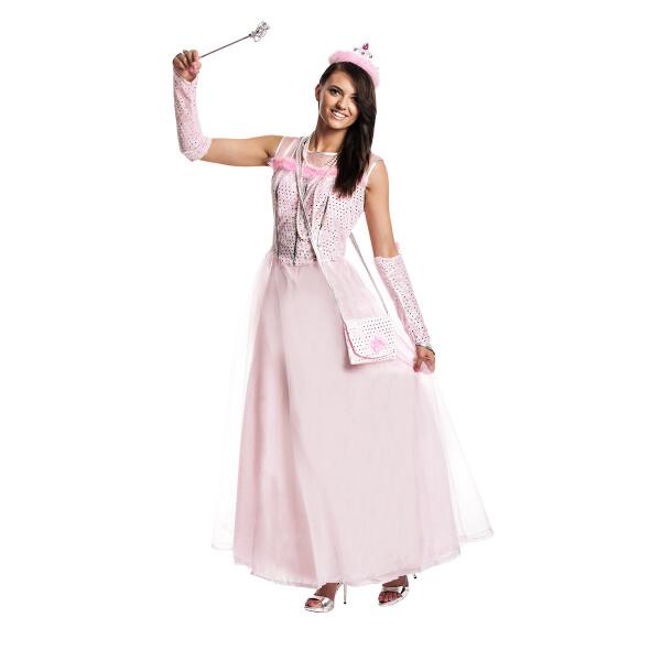 Prinzessin Kostüm Damen rosa mit Tasche | Kostümplanet®