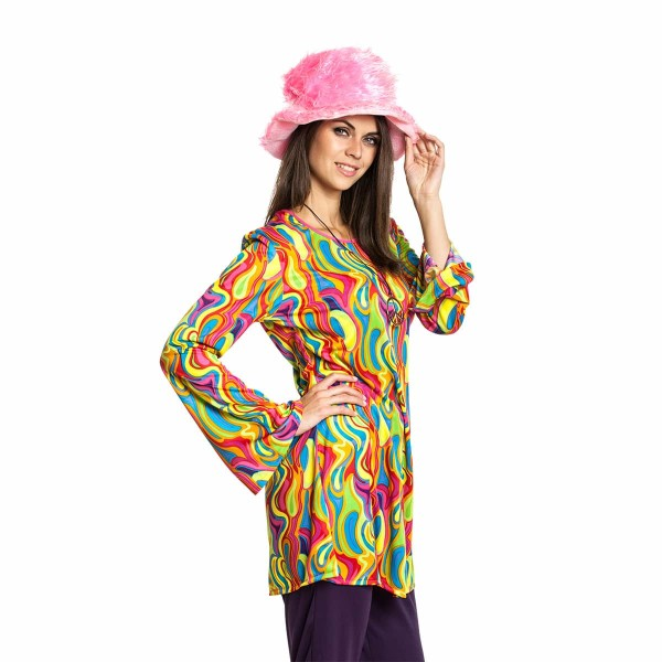 Hippie Top Damen bunt 36-38
