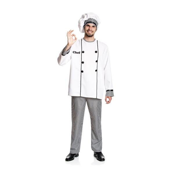 Koch Herren weiß 52-54