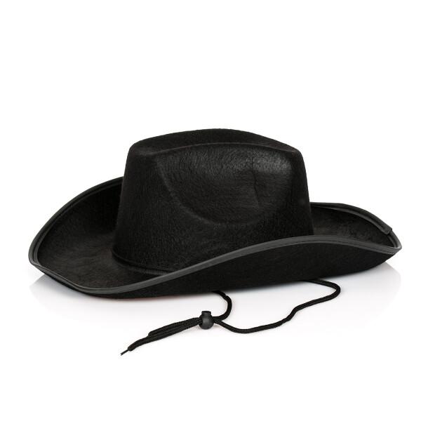 cowboy western hut schwarz