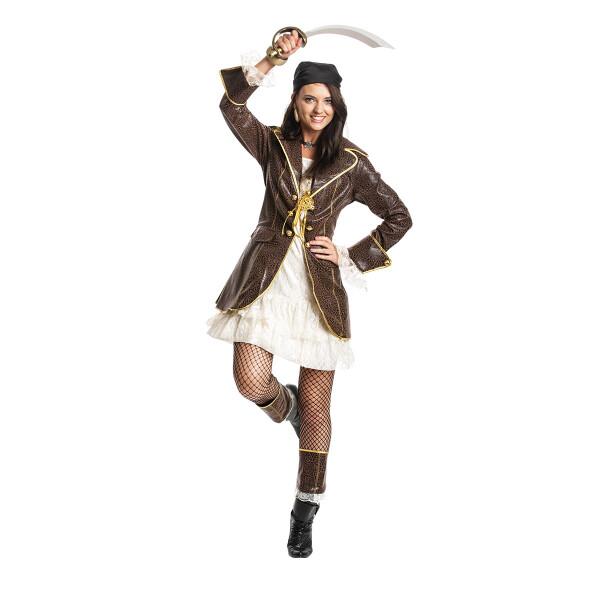 Piratin Damen braun 44-46