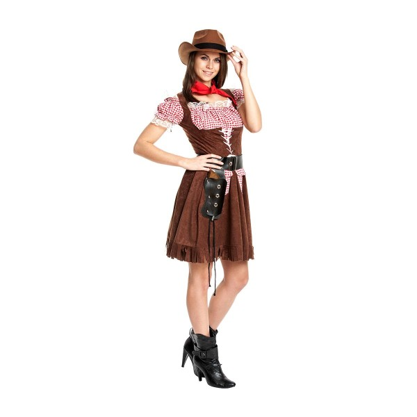 Cowgirl Damen braun 40-42
