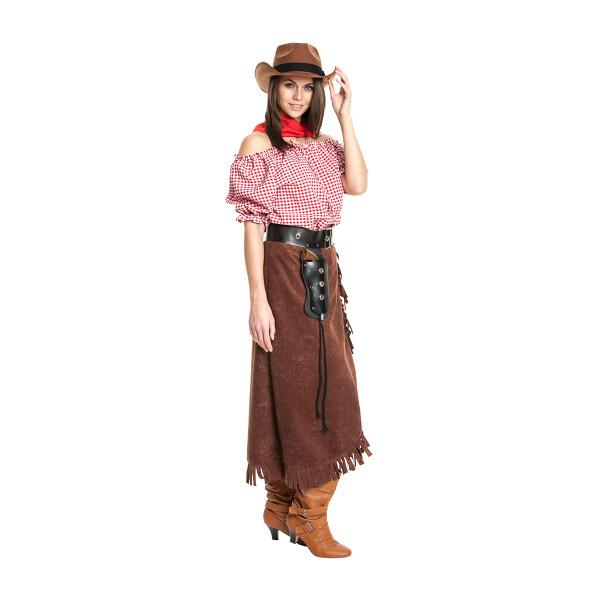 Cowgirl Damen braun 48-50