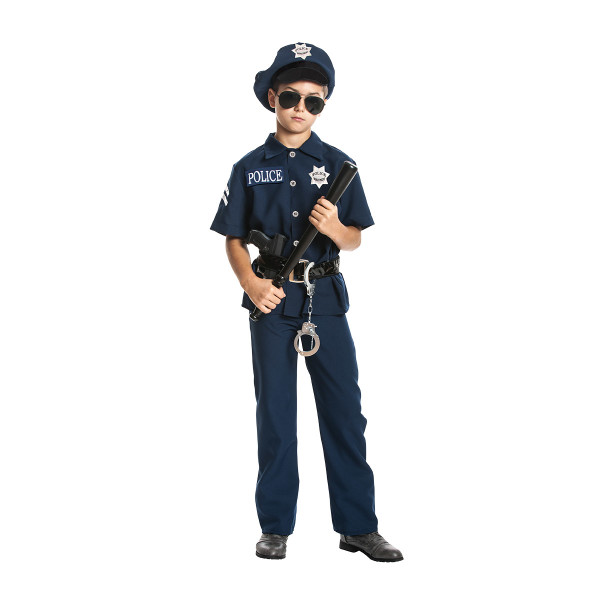 Polizist Jungen blau 104
