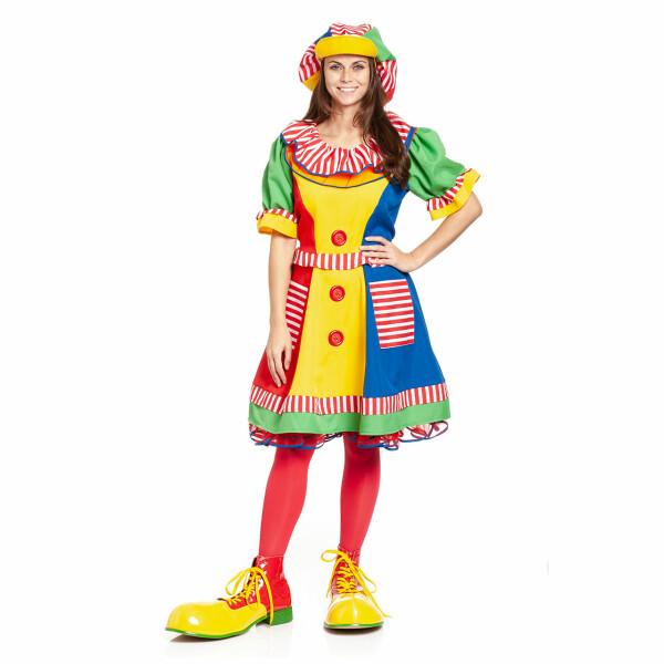 Clown Damen bunt 40-42