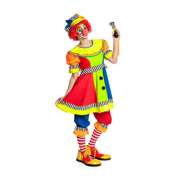 Clown Damen bunt 52-54