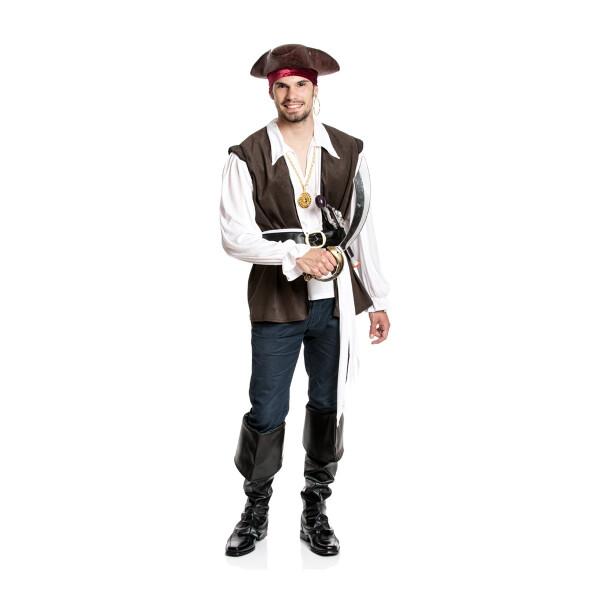 Pirat Herren braun 48-50