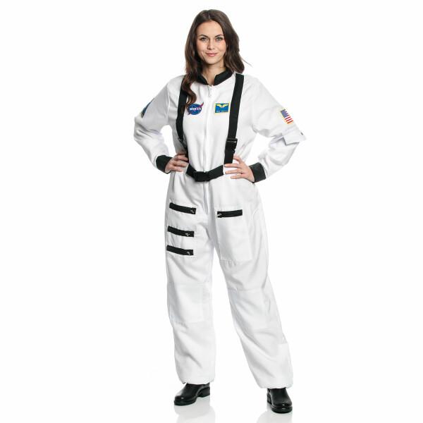 Astronaut Damen weiß L