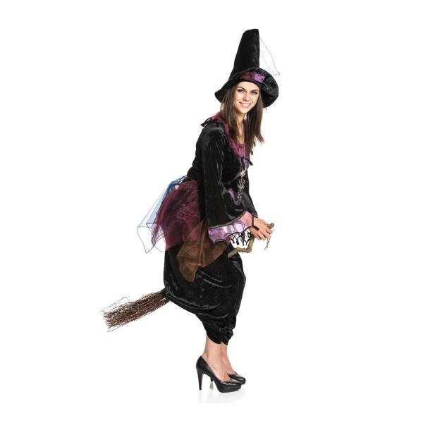 Hexe Damen schwarz 36-38